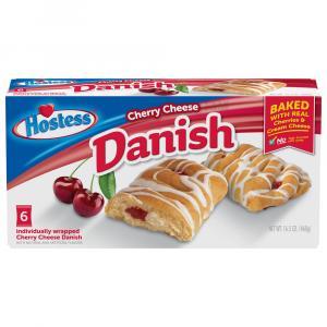 Hostess Cherry Cheese Danish