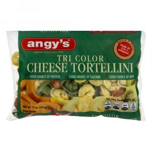 Angy's Tri Color Cheese Tortellini