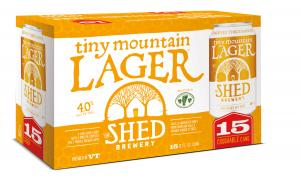 The Shed Brewery Tiny Mountain Lager