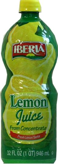 Iberia Lemon Juice