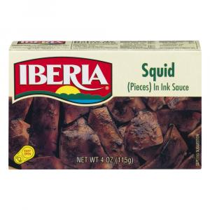 Iberia Squid Pieces In Ink Sauce
