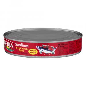 Iberia Sardines In Hot Tomato Sauce - Hot Hot