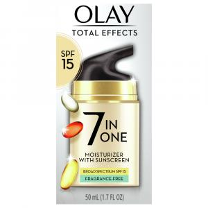 Olay Total Effects Fragrance Free UV Protection Cream