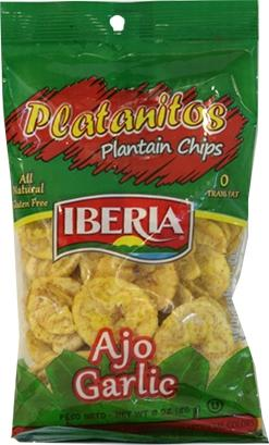 Iberia Garlic Plantain Chips