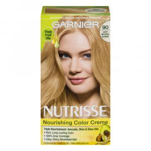 Garnier Nutrisse Creme #90 Macadamia Hair Color Kit