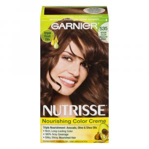 Garnier Nutrisse Creme #535 Chocolate Caramel Hair Color Kit