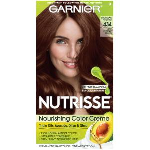 Garnier Nutrisse Cream #434 Chocolate Chestnut Hair Color