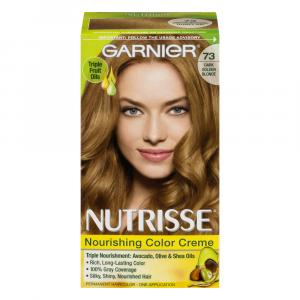 Garnier Nutrisse Creme #73 Dark Golden Blonde Hair Color Kit
