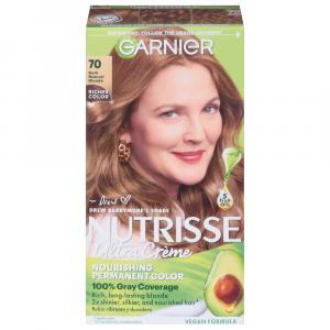 Garnier Nutrisse Creme #70 Dark Natural Blonde Hair Color