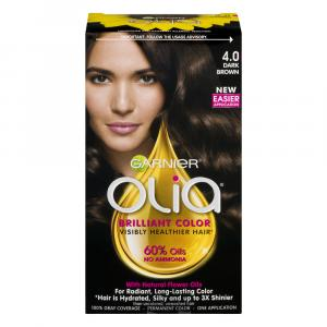 Garnier Olia Dark Brown 4.0 Permanent Hair Color