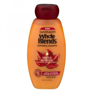 Garnier Whole Blends Maple Remedy Restoring Shampoo