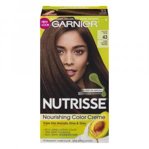 Garnier Nutrisse #43 Dark Golden Brown Cocoa Bean