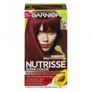 Garnier Nutrisse Light Intense Auburn R3 Hair Color Kit