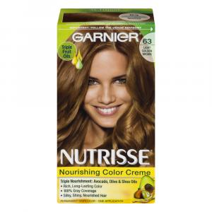 Garnier Nutrisse Creme #63 Brown Sugar Hair Color Kit