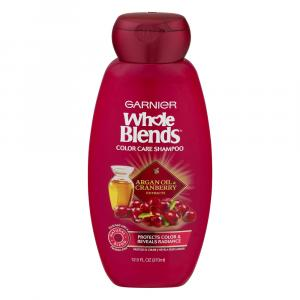 Garnier Whole Blends Cranberry Argan Oil Shampoo