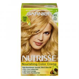 Garnier Nutrisse Cream #93 Light Golden Blonde Hair Color
