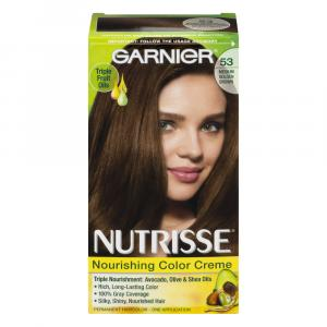 Garnier Nutrisse Creme #53 Chestnut Hair Color Kit