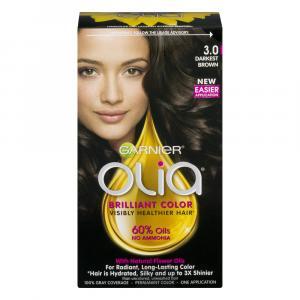 Garnier Olia Darkest Brown 3.0 Permanent Hair Color
