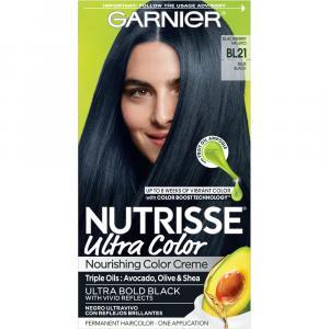 Nutrisse Blue Black Hair Color Kit 21
