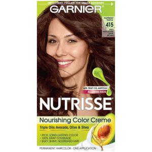 Garnier Nutrisse Soft Mahogany Dark Brown Hair Color Kit