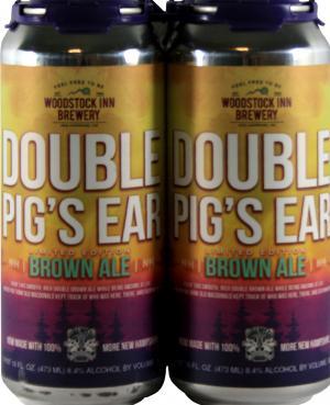 Woodstock Inn Brewery Double Pig's Ear Brown Ale
