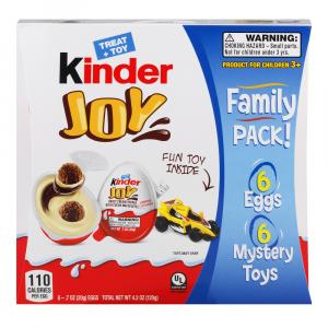 Kinder Joy Egg Family Pack