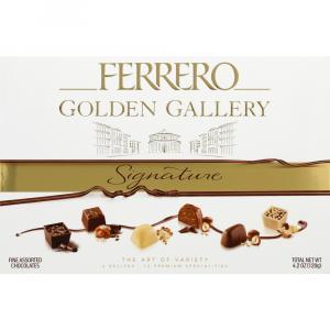 Ferrero Golden Gallery Signature Fine Assorted Chocolates