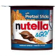 Nutella & Go Hazelnut Spread & Pretzels