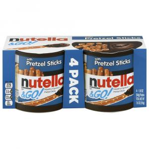 Nutella & Go with Pretzel Sticks