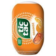 Tic Tac Orange Bottle