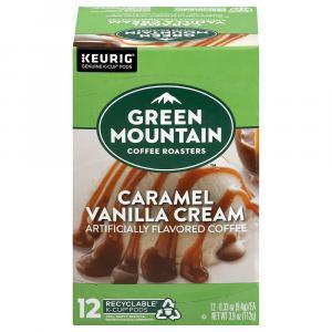 Green Mountain Caramel Vanilla Cream Coffee K-Cups