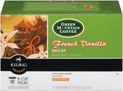 Green Mountain French Vanilla Decaffinated K-Cups