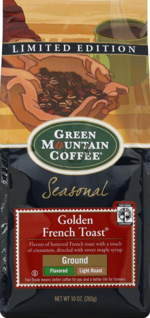 Green Mountain Ground Golden French Toast Coffee