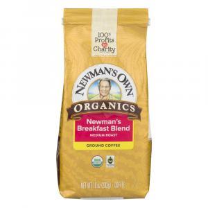 Newman's Own Organics Breakfast Blend Ground Coffee