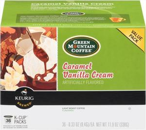 Green Mountain Coffee Caramel Vanilla Cream K-cup