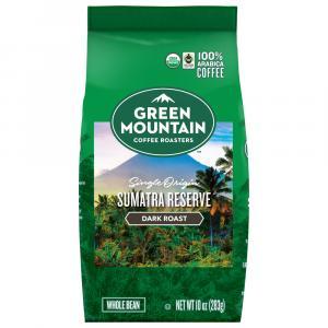 Green Mountain Organic Sumatran Whole Bean Coffee