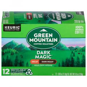 Green Mountain Coffee Dark Magic Decaf K-Cups