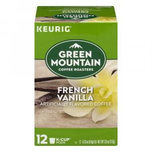 Green Mountain Coffee French Vanilla K-Cups