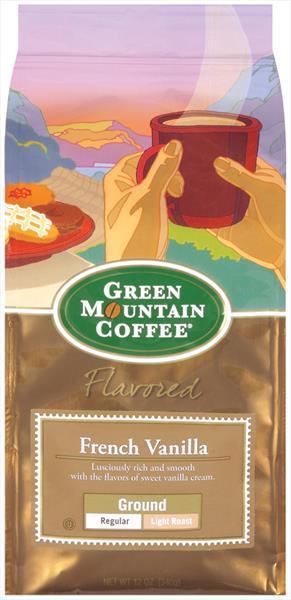 Green Mountain French Vanilla Ground Coffee