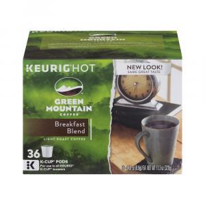 Green Mountain Coffee Breakfast Blend K-Cups