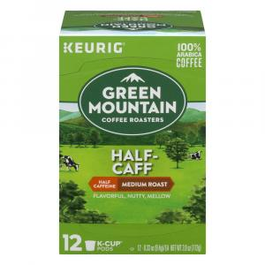 Green Mountain Half-Caff Coffee K-Cups