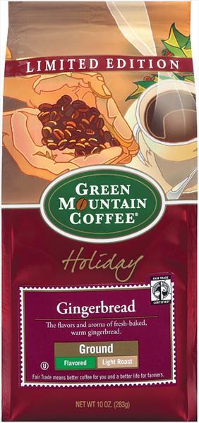 Green Mountain Ground Gingerbread Coffee