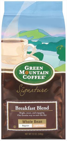 Green Mountain Breakfast Blend Whole Bean Coffee