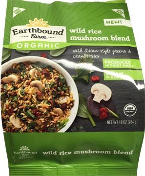 Earthbound Farm Organic Wild Rice Mushroom Blend