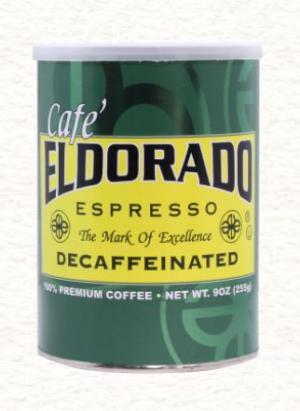 Cafe Eldorado Decaffeinated Espresso