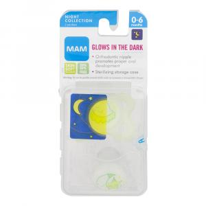 Mam Pacifiers Night Collection