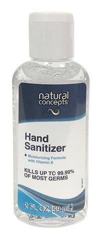 Natural Concepts Vitamin E Hand Sanitizer