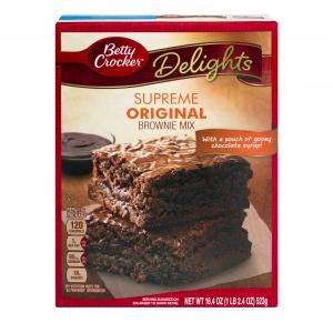 Betty Crocker Original Supreme Brownie Mix