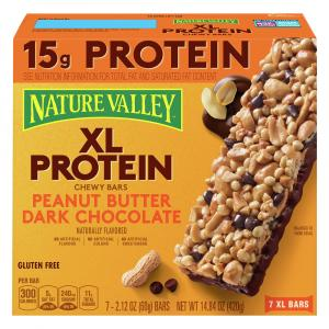 Nature Valley XL Protein Peanut Butter Dark Chocolate Chewy