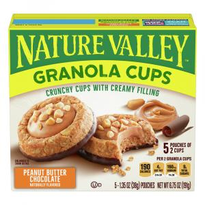 Nature Valley Granola Cups Peanut Butter Chocolate